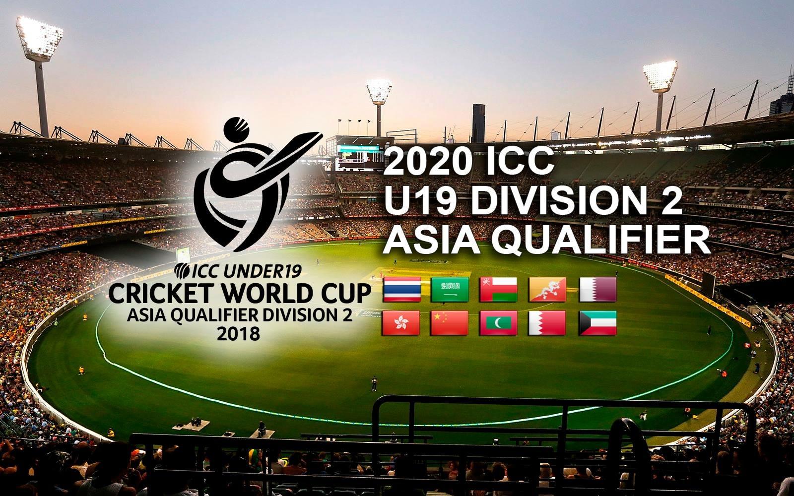 U19 World Cup 2020.Icc World Twenty 20 Asia B Qualifier 2018